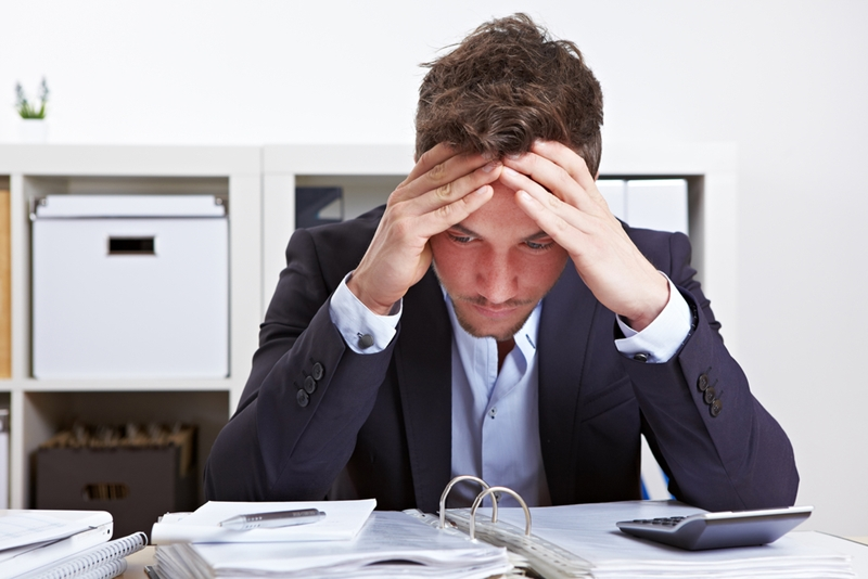 Stress can cause employees to miss work.